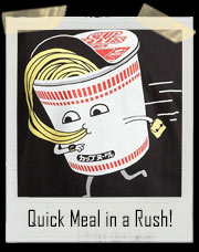 Quick Ramen Noodle Meal in a Cup Rush! T-Shirt