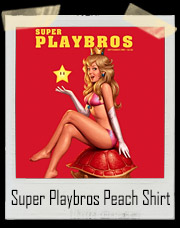 Super Playbros 1up Pin Up Princess Peach T-Shirt