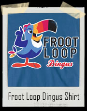Toucan Sam Pink Hat Froot Loop Dingus Big Brother 16 Inspired T-Shirt