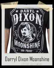 Darryl Dixon Walking Dead Moonshine T-Shirt