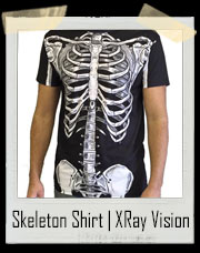 Full Body Skeleton Shirt | XRay Vision T-Shirt
