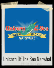 Unicorn Of The Sea Narwhal Elf T-Shirt