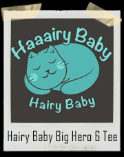 Baymax Hairy Baby Kitty Cat Big Hero 6 T-Shirt