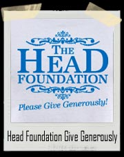 Head Foundation Please Give Generously T-Shirt