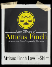 To Kill a Mockingbird Law Offices Of Atticus Finch Law Firm T-Shirt