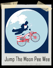 Pee Wee Herman Jump The Moon Big E.T. Adventure T-Shirt