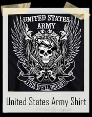 United States Army - This We'll Defend T-Shirt