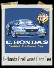 Street Fighter E-Honda PreOwned Cars T-Shirt