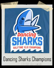 Katy Perry Super Bowl Halftime Show Left Shark Dance Champions T-Shirt