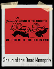 Shaun of the Dead Monopoly Style T-Shirt