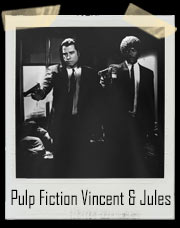 Pulp Fiction Vincent Vega and Jules Winnfield Gun Point T-Shirt