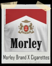 Morley Brand X Fictional Cigarettes Brand T-Shirt