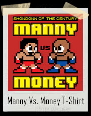 Mega Manny Pacquiao vs. Mega Money Mayweather Jr Boxing T-Shirt