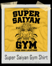 Goku's Super Saiyan Dragon Ball Z Gym T-Shirt