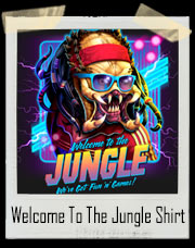 Welcome To The Jungle Predator GNR T-Shirt