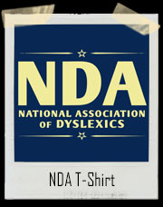 National Association of Dyslexics NDA T-Shirt