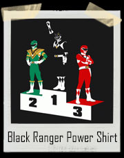 Black Ranger Power!! T-Shirt