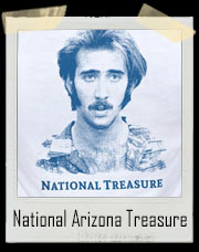 Raising Arizona National Treasure Nicolas Cage T-Shirt