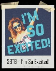 "Jesse Spano Saved By The Bell Shirt - ""I'm So Excited"""