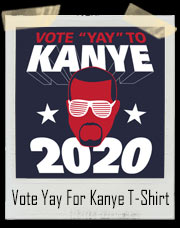 Vote Kanye West for President in 2020 T-Shirt