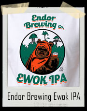 Endor Brewing Company Ewok IPA Star Wars T-Shirt