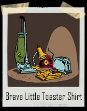 Brave Little Toaster Worthless Toaster T-Shirt