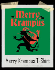 Merry Krampus Christmas T-Shirt