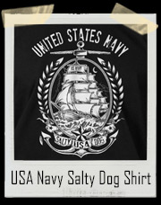 United States Navy Salty Dog T-Shirt