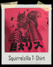 Squirrelzilla Squirrel T-Shirt