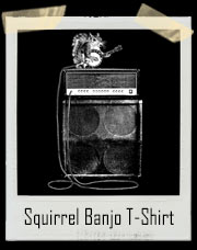 Squirrel Playing Electric Banjo T-Shirt