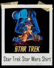 Star Trek Star Wars Mocking T-Shirt