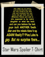 Star Wars Spoiler T-Shirt