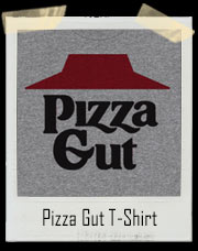 Pizza Gut Pizza Hut Parody T-Shirt