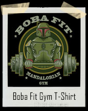 Star Wars Inspired Boba Fit Mandalorian Gym Since 1978 T-Shirt