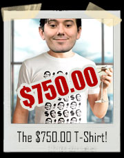 The $750.00 T-Shirt! - Dolla Dolla Pills Y'all $750.00 Martin Shkreli T-Shirt