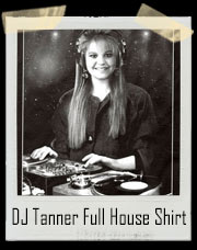 Full And Fuller House DJ Tanner With Turntables T-Shirt