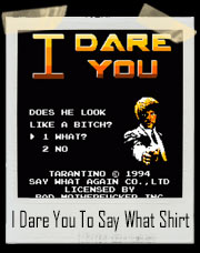 I Dare You Pulp Fiction Inspired Jules Winnfield T-Shirt