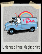 Unicreep Unicorn Free Magic T-Shirt