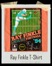 Ace Ventura Ray Finkle Laces Out Football Video Game T Shirt