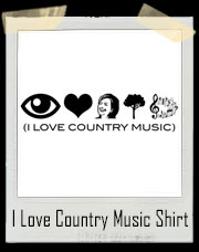 I Love Country Music Hillary Clinton T-Shirt