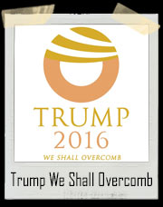 Donald Trump 2016 - We Shall Overcomb T-Shirt