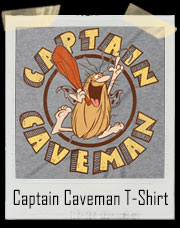 Captain Caveman Cavey T-Shirt