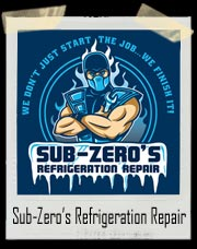 Sub Zero Refrigeration Repair T Shirt