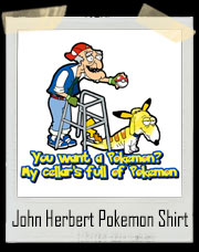 John Herbert Pokemon Go Family Guy Inspired T-Shirt