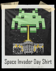 Independence Day Space Invaders T-Shirt
