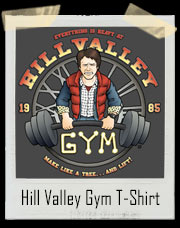 Back To The Future Inspired Hill Valley Gym T-Shirt