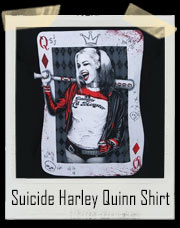 Suicide Squad Harley Quinn Queen Card T-Shirt