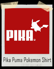 Pikachu Puma Inspired Pokemon Go Pika T-Shirt
