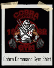 Cobra Command GI JOE Inspired Gym T-Shirt