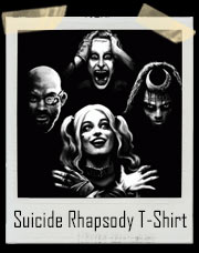 Suicide Squad Rhapsody - Suicide Squad And Queen Inspired T-Shirt